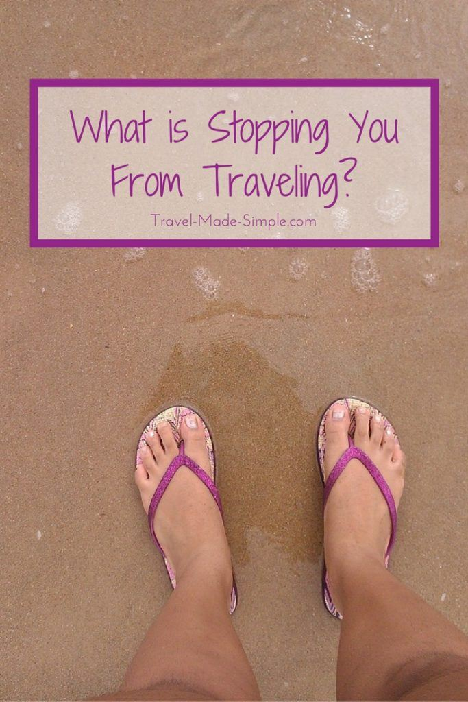 What is stopping you from traveling?