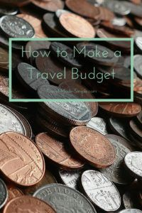Making a travel budget is an important part of planning your vacation. Here I will show you how to make a trip budget to estimate your trip expenses. #traveltips #budgettravel #money #travelplanning