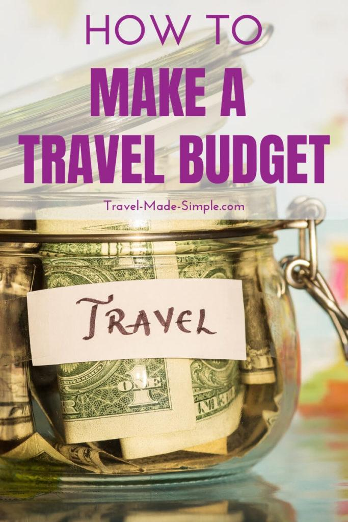 How to Make a Travel Budget