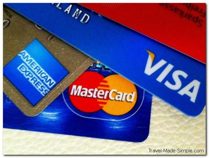 choosing credit and debit cards for travel