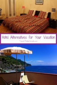 hotel alternatives for your vacation