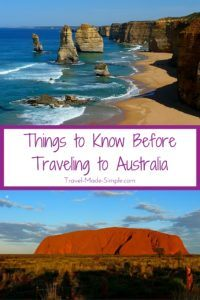 Traveling to Australia? Here are some important things to know while you're planning and before you even book your flight to the land down under. #australia