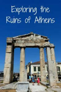 The ruins of Athens, Greece are unbeatable. There is so much history all around the city, and no trip to Greece would be complete without exploring Athens. #greece #athens #athenstravelplanning
