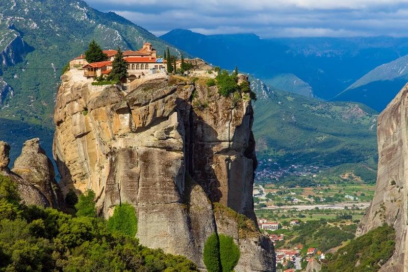 Meteora one week in Greece itinerary