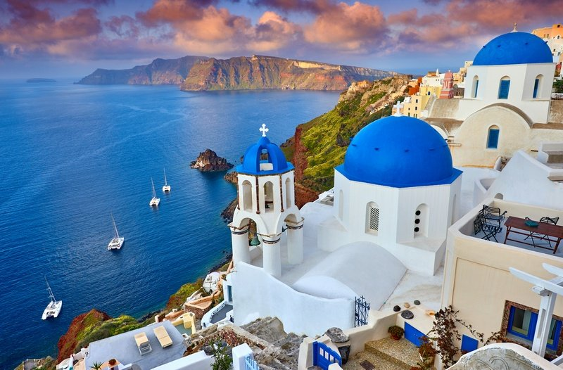 Santorini one week in Greece itinerary