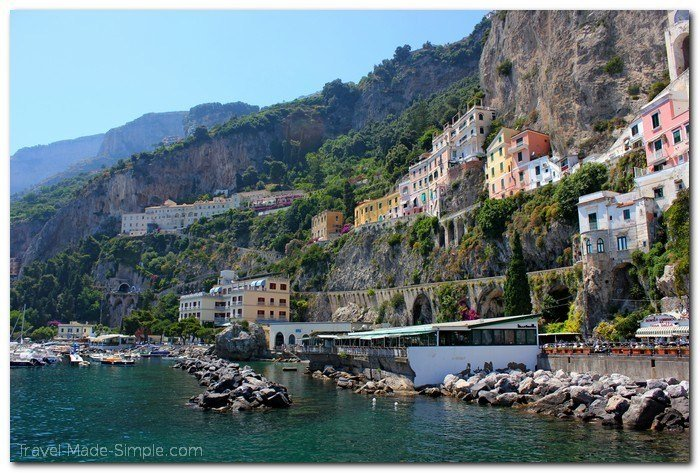 exploring the Amalfi Coast, Italy itinerary