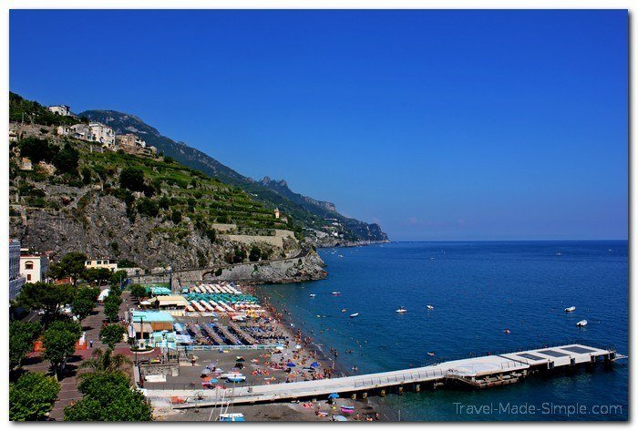 where to stay on the Amalfi Coast, Italy itinerary