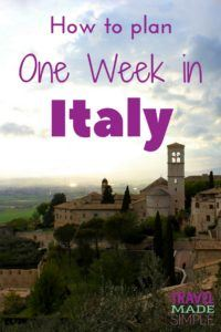 Here's how to make the most of one week in Italy. From the history to the food, plan a trip to Italy with our Italy itinerary and enjoy your dream vacation! one week in Italy | two weeks in Italy | travel to Italy | Italy travel planning tips