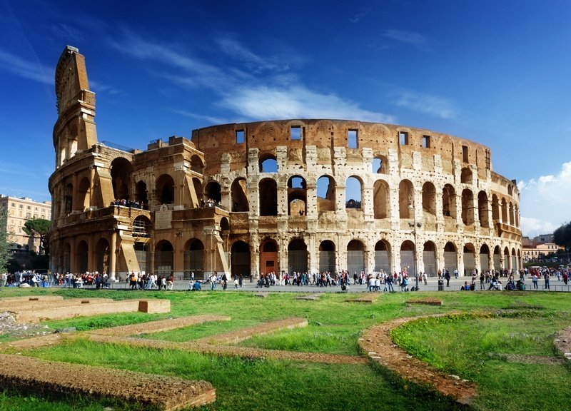 Rome Colosseum one week in Italy itinerary