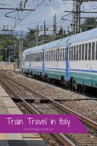 Train Travel in Italy