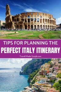 Here's how to make the most of one week in Italy. From the history to the food, plan a trip to Italy with our Italy itinerary and enjoy your dream vacation! one week in Italy | two weeks in Italy | travel to Italy | Italy travel planning tips #italy #rome #florence #venice #pisa #bologna #cinqueterre #amalficoast #italyitinerary #italyvacation #italytraveltips #travelplanning