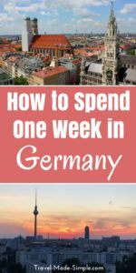 When planning your Germany itinerary, pick a few of the highlights and don't rush. Take in Germany's scenery, food, culture and history one piece at a time. Here are some ideas for how to spend one week in Germany.