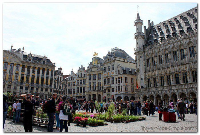 Brussels tourist attractions - Grand Palace