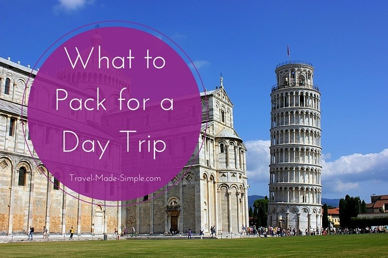 What to Pack for a Day Trip