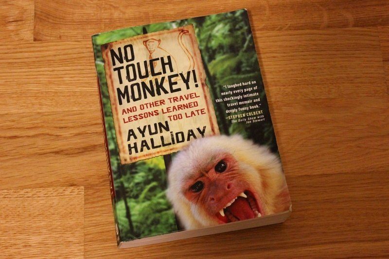 books as travel inspiration - No Touch Monkey book review
