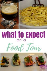 It's good to know what to expect on a food tour so you can be prepared and enjoy the tour. Food tours are one of our favorite ways of traveling because they're so much fun!