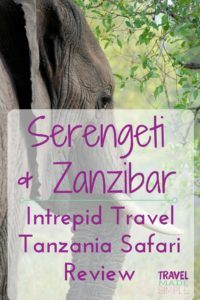 Serengeti and Zanzibar: Intrepid Tanzaniz safari tour review
