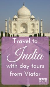 India with day tours from Viator
