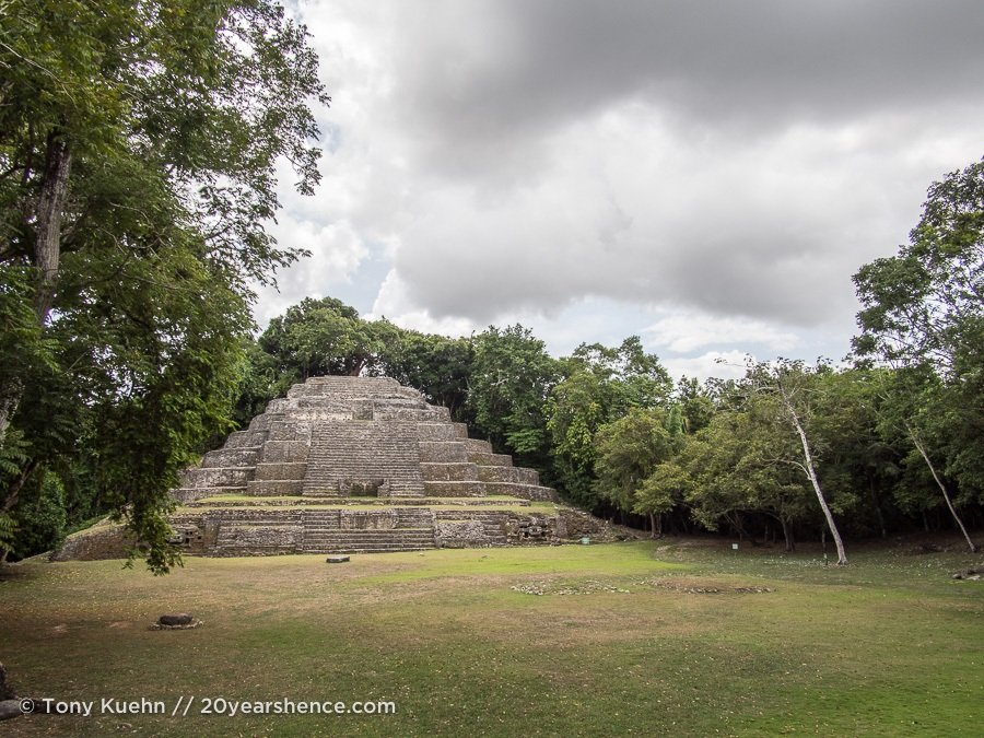 Belize Mayan Ruins tour review - Jaguar Temple