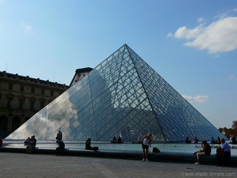 1 week in paris itinerary Louvre