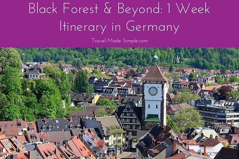 1 Week Itinerary in the Black Forest