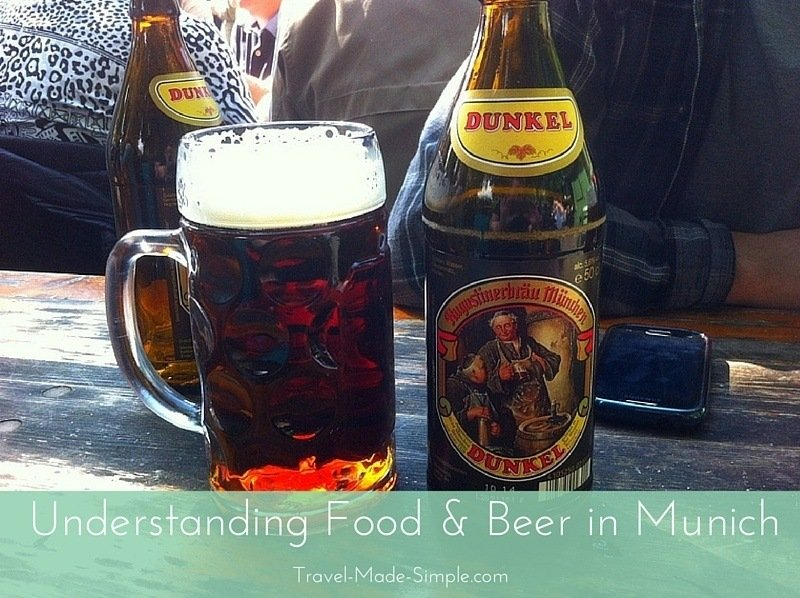 Understanding Food and Beer in Munich