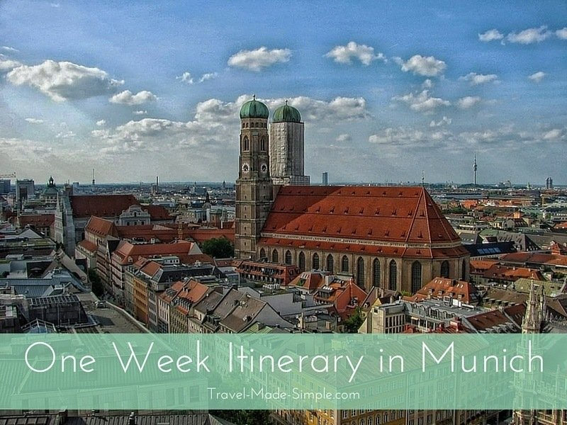 One Week Itinerary in Munich