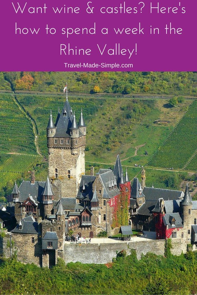 Rhine Valley itinerary