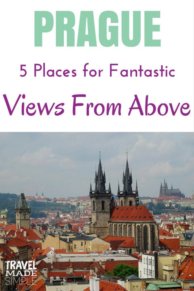Prague views from above