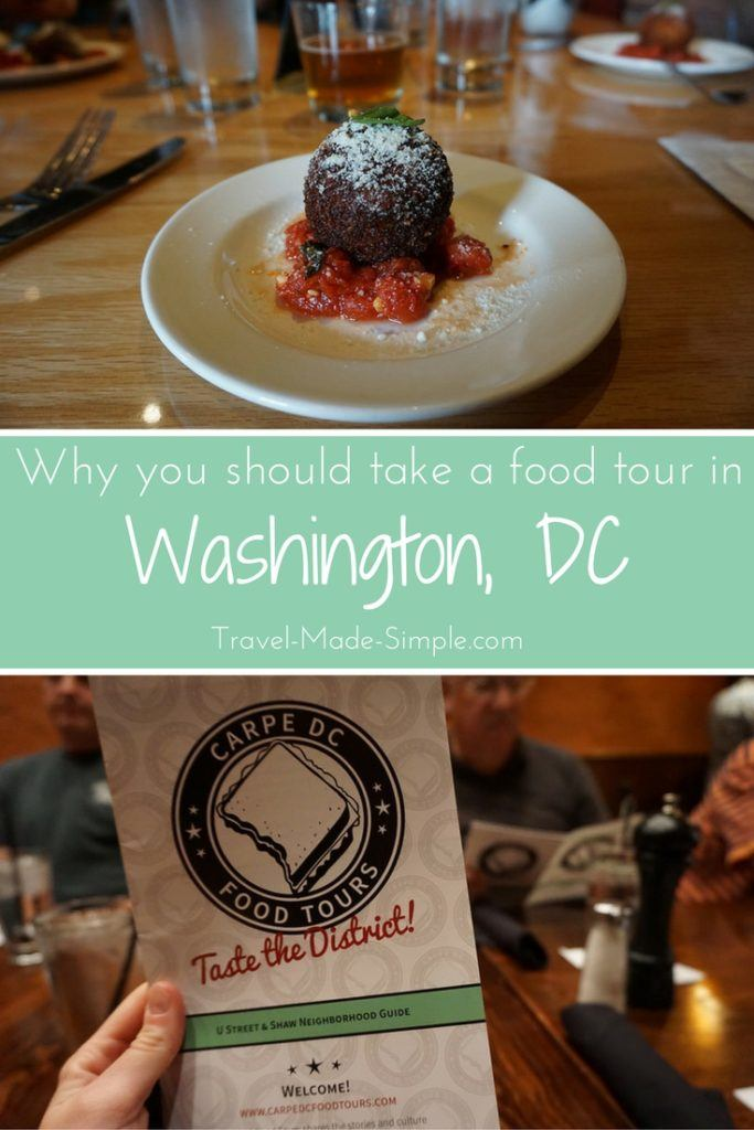 Washington DC food tour review