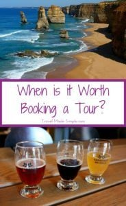 when is it worth booking a tour?