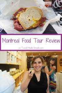 While road tripping in Canada, Gigi stopped in Montreal to explore. She tells us about her experiences and what she ate in her Montreal food tour review. #montreal #canada #traveltips