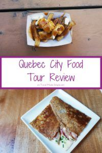 Quebec City is an underrated city with lots of charm. In her Quebec City food tour review, Gigi tells us about the delicious things she ate on her tour. #quebeccity #quebec #canada #traveltips