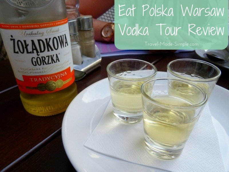 Warsaw Vodka Tour Review