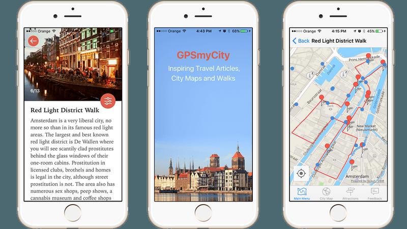 GPSmyCity app