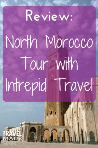 Intrepid North Morocco tour review