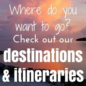 destinations and itineraries