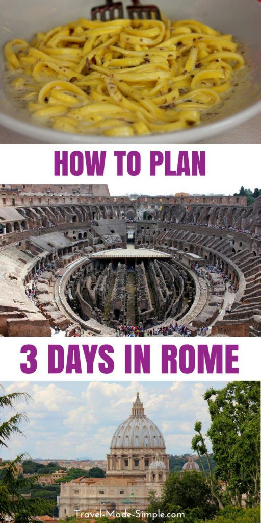 3 Days in Rome: a Whirlwind Itinerary in the Eternal City