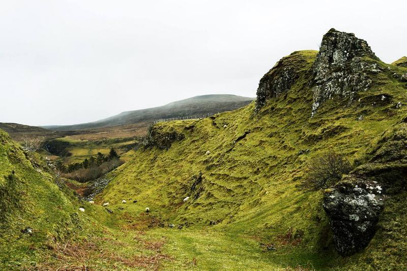 Scottish Highlands tour review Fairyglen