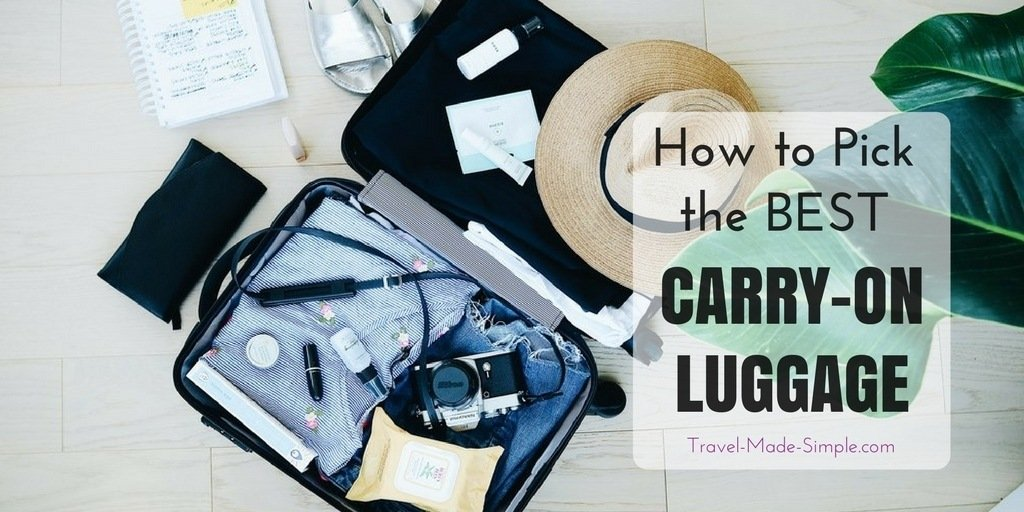 6dec9b840 Best Carry-on Luggage & How to Pick the Right One | Travel Made Simple