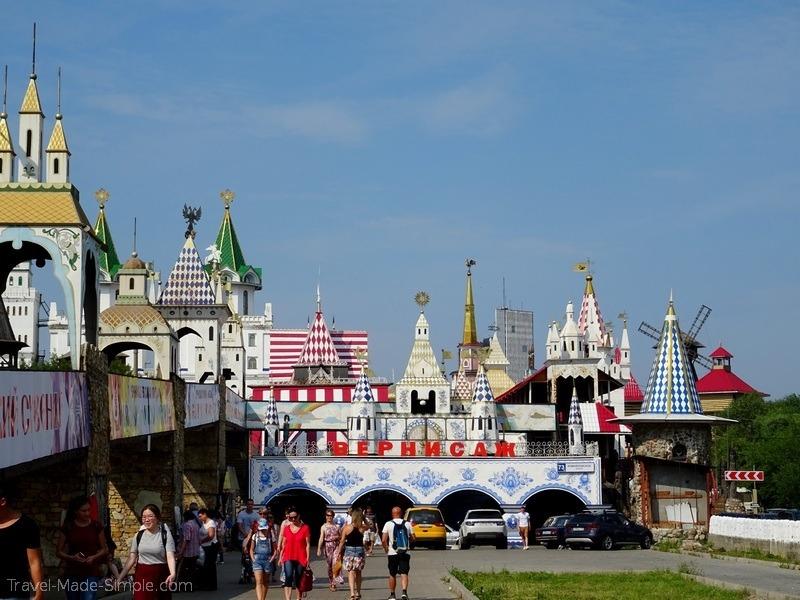 Viking Russia river cruise Moscow flea market