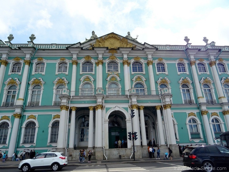 Viking Russia river cruise St Petersburg Hermitage