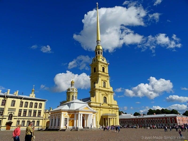 Viking Russia river cruise St Petersburg Peter Paul Fortress