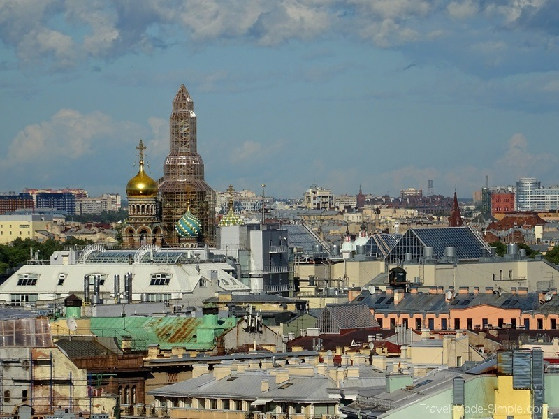 Viking Russia river cruise St Petersburg St Isaac Cathedral view