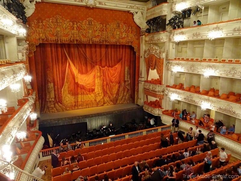 Viking Russia river cruise St Petersburg ballet