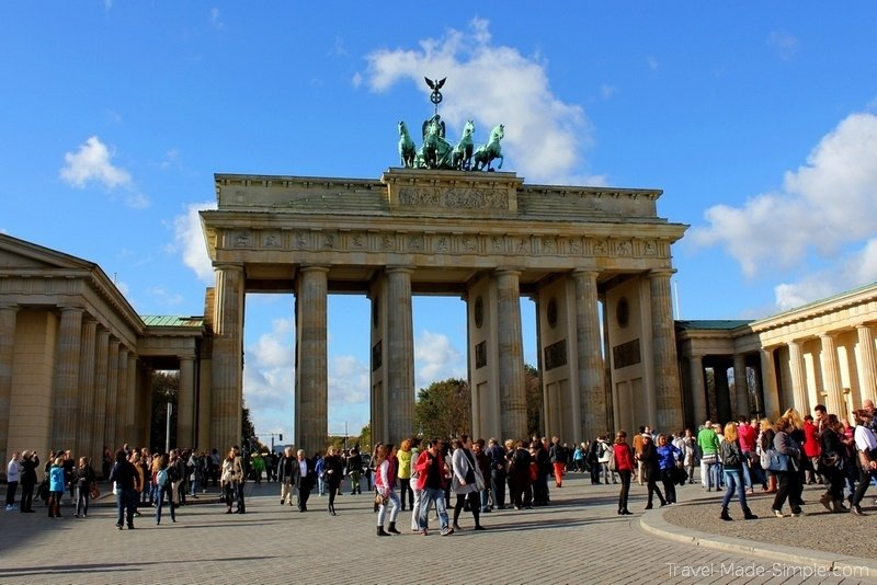 Berlin Brandenburg Gate 1 week in Germany itinerary