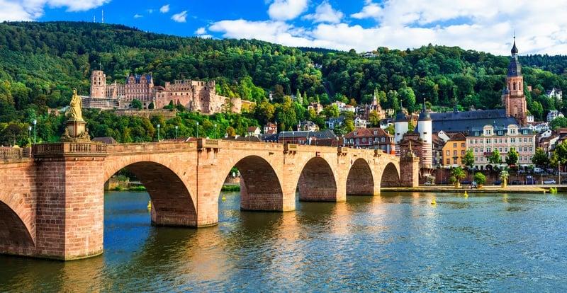 Germany itinerary Heidelberg