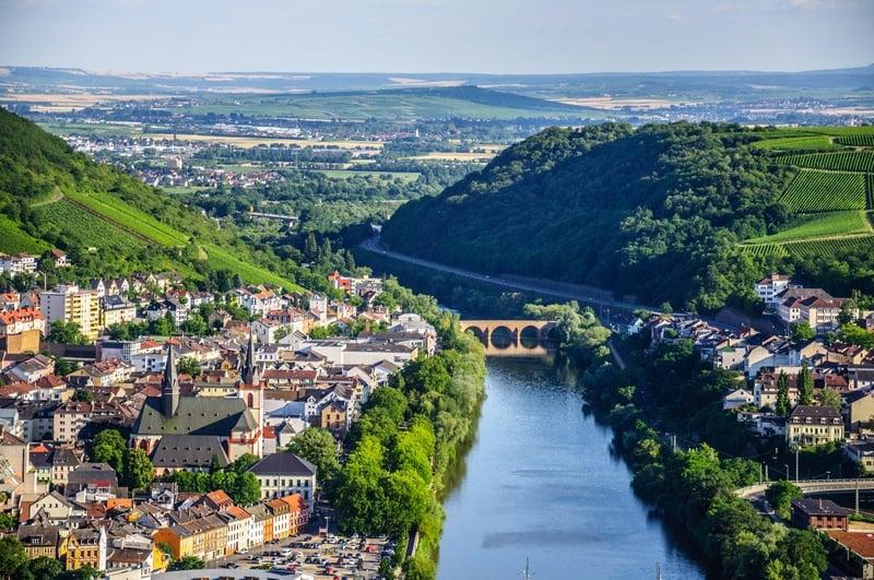 Germany itinerary Rhine Valley