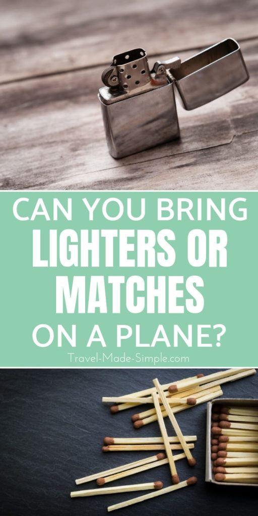 Can you bring a lighter on a plane?