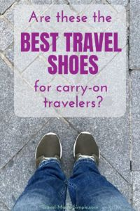 Are these the best travel shoes for carry-on travelers? We recently tested out the Tropicfeel shoes to see if they really are the best shoes for travel. #traveltips #travelfashion #shoes